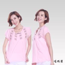 噶瑪蘭 棉刺繡衫DK6347-02A