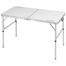 ラフォーレ アルミツーウェイテーブル(アジャスター付/M) 120×60cm (AP189927/UC-510)【 UC-510 】【UC-0510】【QBI35】