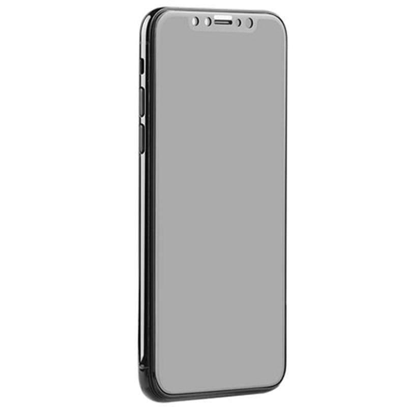 防窺鋼化玻璃貼-iPhoneX/Xs-極致黑