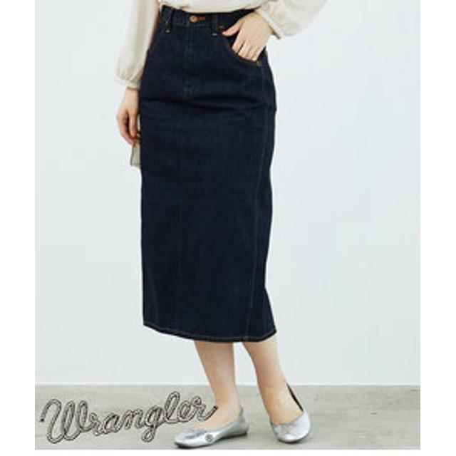 【ROPE' PICNIC:スカート】【WRANGLER×ROPE' PICNIC】セミロングスカート