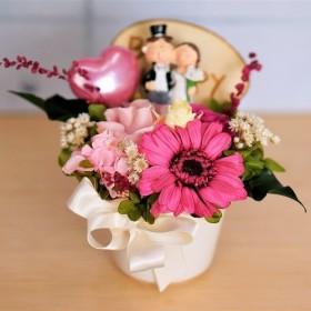 プリザーブドフラワー結婚祝い 記念日 ティナ