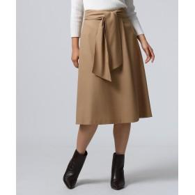 UNTITLED(アンタイトル) ウォッシャブルサキソニースカート
