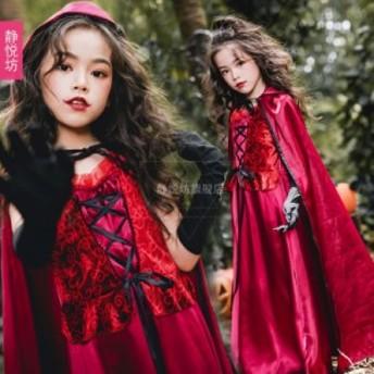 子供ハロウィン 魔女 魔法使い コスプレ 衣装 仮装 子供用 コスチューム セクシー | 女王様 女王 大きいサイズ 吸血鬼 コスプレ衣装 コ
