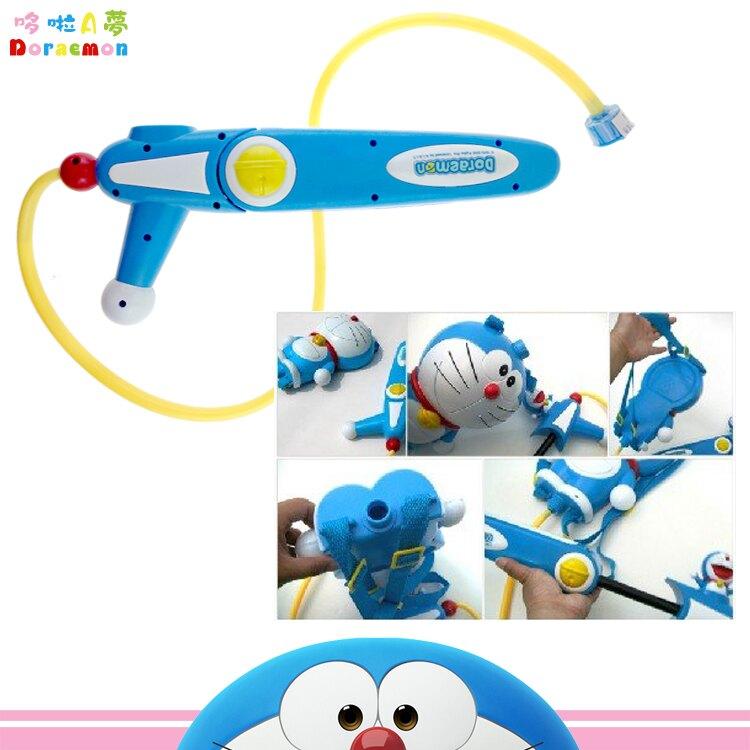 哆啦A夢 小叮噹  後背 背包水槍 玩具 844190 圖案瑕疵特賣~~功能沒問題喲 韓國進口正版