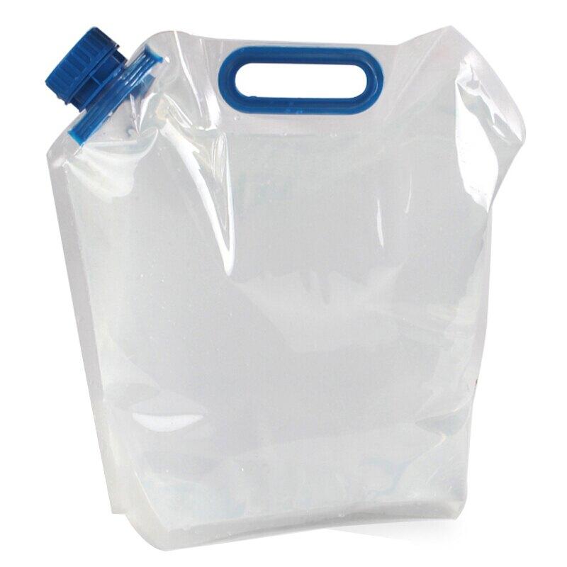 10L大容量可摺疊儲水袋 便攜可折疊儲水桶 手提飲水袋飲水壺蓄水袋蓄水桶 戶外露營旅遊實用【OE0270】上大HOUSE