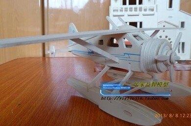 【協貿國際】3D立體拼圖軍事海豹戰鬥機(3入)