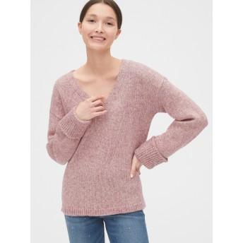 Gap メタリックVネックセーター