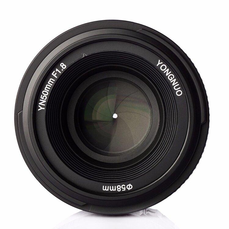 攝彩@尼康 永諾 YN50mm F1.8 AF 定焦鏡頭 自動對焦 人像鏡 攝影標準定焦鏡 大光圈 單眼 YN50