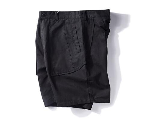 FINDSENSE MD 韓國 時尚休閒 潮 男 寬鬆 屁股特色口袋設計 休閒短褲 五分褲 運動短褲