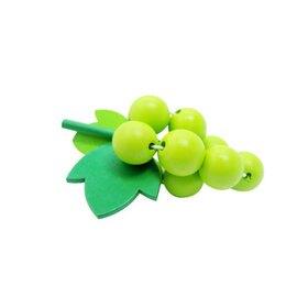 【台灣 MULEDY 木樂地】葡萄/家家酒切菜玩具【紫貝殼】