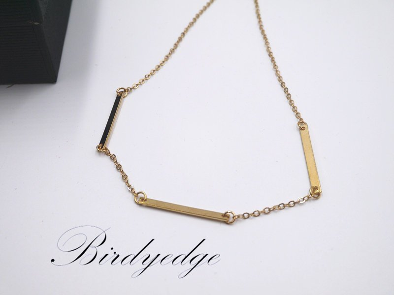 BIRDYEDGE 歐美 女 項鍊 幾何 項鍊 頸鍊 項圈 短鍊