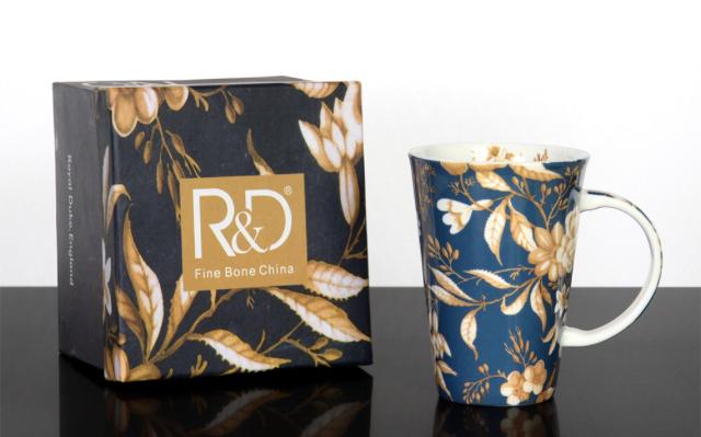 *朵菈傢飾* 英國Royel Duke 新款-精緻骨瓷杯 精品馬克杯 附精緻紙盒共6款