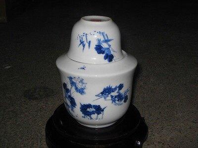 景德鎮陶瓷溫酒壺 半斤裝大號青花和為貴