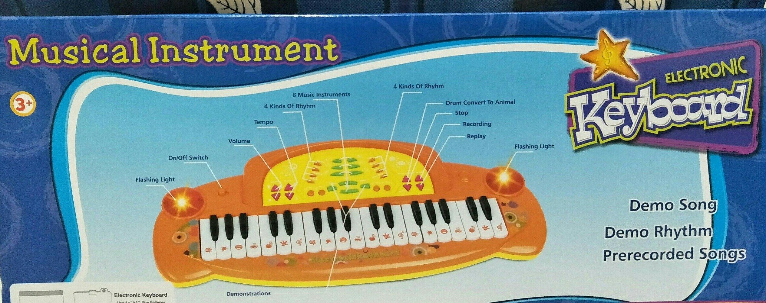 【兒童玩具】-歡樂電子琴 ST安全玩具合格標章
