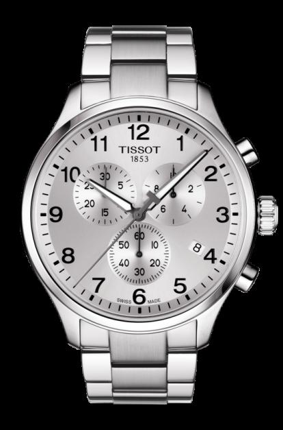 TISSOT 天梭錶 CHRONO XL CLASSIC 韻馳系列 T1166171103700白/45mm