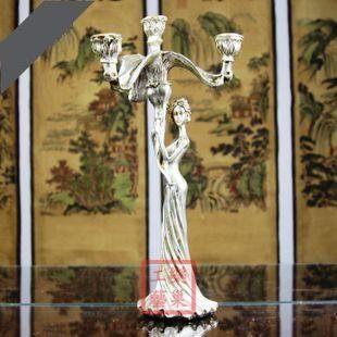 美女燭台 餐廳裝飾