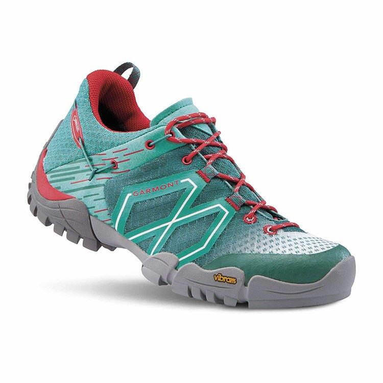 GARMONT 女款Gore-Tex低筒健行鞋STICKY CLOUD WMS 481016/618 / 城市綠洲 (GoreTex、防水透氣、黃金大底、登山攀登)