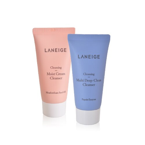 LANEIGE蘭芝 韓國酷肌因保濕醒肌露/導入液/洗面乳/晚安面膜