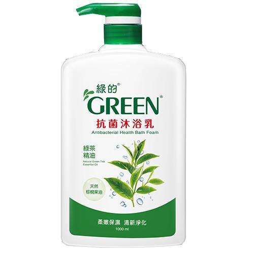 綠的抗菌沐浴乳-綠茶1000ml
