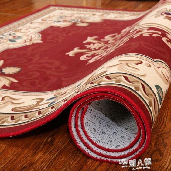 歐式進門入戶門墊地墊家用門口墊子腳墊走廊樓梯美式客廳地毯 YDL