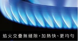 櫻花檯面式雙炫火雙口玻璃瓦斯爐(黑玻)/G2922AG/天然