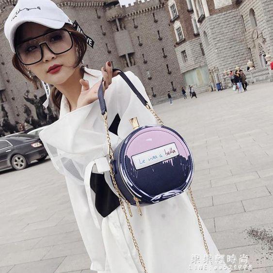 手提包仙女小圓包包女2019新款潮韓版百搭側背包夏天個性?條手提單肩包