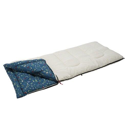 可機洗 露營圖騰 雙人0度睡袋