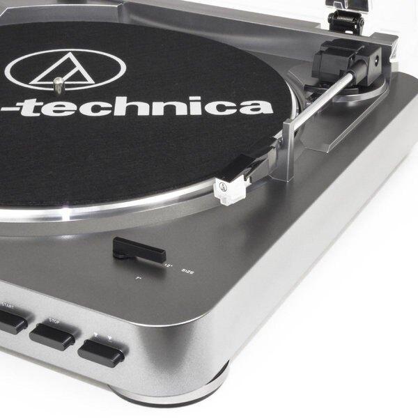 弘達影音多媒體  鐵三角 AT-LP60 鐵灰色 BK 全自動黑膠唱盤 免運費!