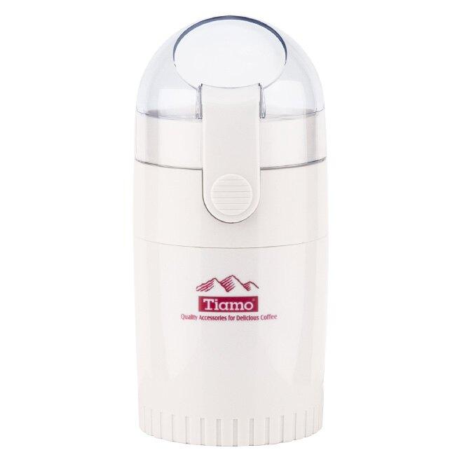 金時代書香咖啡 Tiamo 3D 立體旋轉磨豆機 雙刀片 白色 HG8836