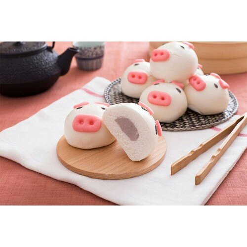 禎祥小豬甜包-芋頭餡料