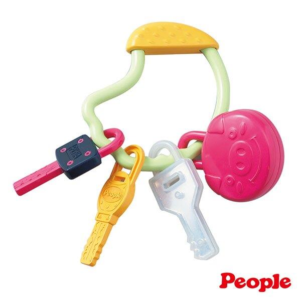 《日本 People》五感刺激鑰匙圈玩具 東喬精品百貨