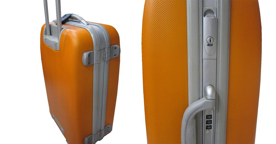 限時 滿3千賺10%點數↘ | ~雪黛屋~Roberto 29吋行李箱MIT製防盜鋁框360度旋ABS+PC超輕耐壓摔鋁合金拉桿型外掛鈎可座椅R180
