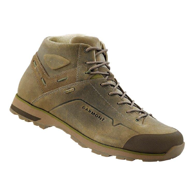 GARMONT 男款Gore-Tex中筒休閒旅遊鞋Miguasha Nubuck GTX 481242/218 沙綠色