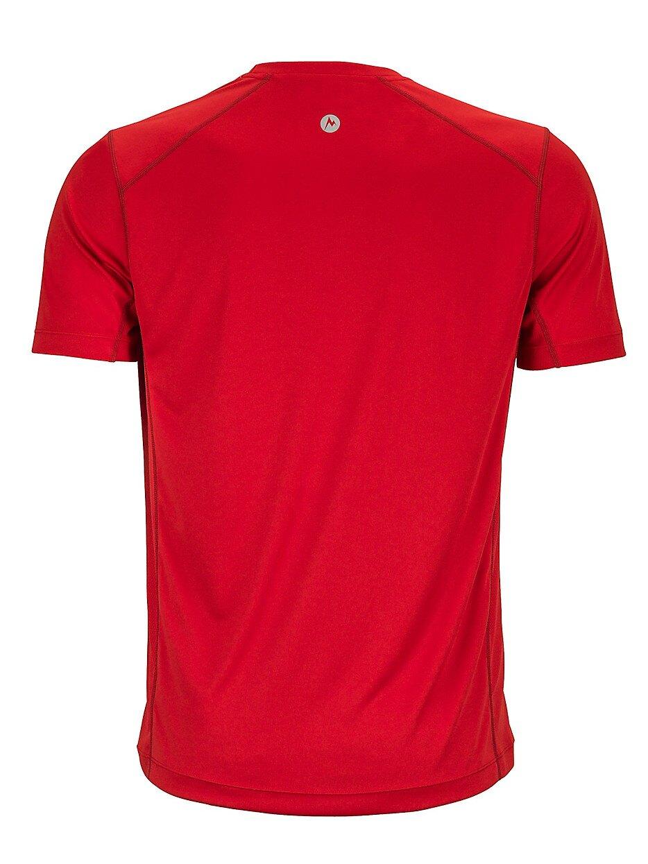 ├登山樂┤美國Marmot土撥鼠 Cyclone 防曬排汗短袖T恤 紅 #52940-6278