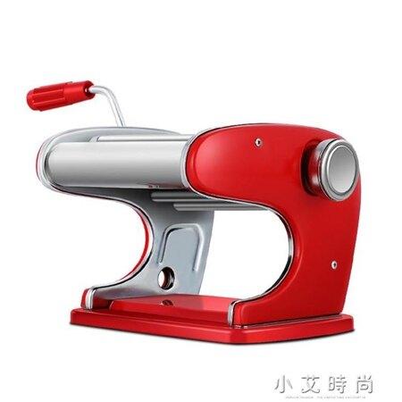 家用手動壓麵機手搖幹麵機餄餎機小型混沌皮搟麵機麵皮機 小艾時尚NMS 清涼一夏钜惠
