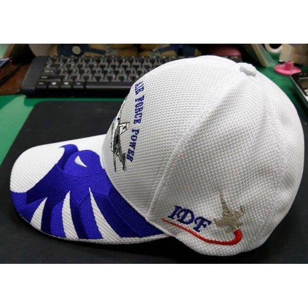 棒球帽運動帽 台灣製 空軍IDF便帽 百搭遮陽防曬男女帽子 1聯隊 透氣布 白色C3-92