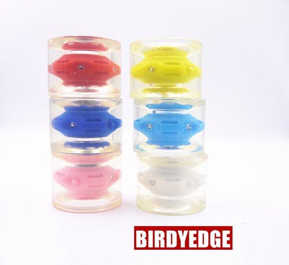 BIRDYEDGE電動滑板 專用 公路輪子 PU高彈力 電動滑板輪子 輪胎 加大款 配件 買一送軸承