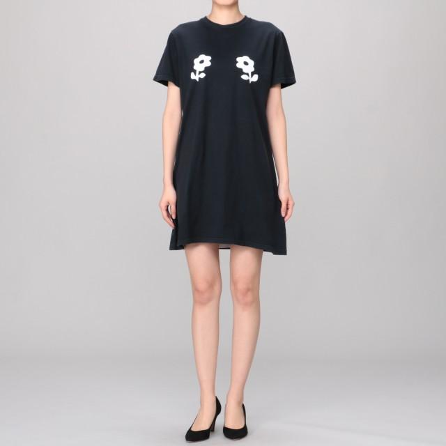 ALEXA CHUNG(アレクサ・チャン)/Boxy Tee Dress- Double Daisy Print