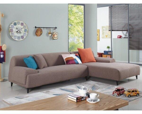 【YUDA】樂布朗 樂活 新概念 L型 高級 布沙發 (貴妃椅左右皆有提供) J9S 426-2