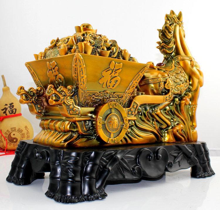 財富寶馬生肖馬擺件 公司開業禮品商務送禮裝飾品