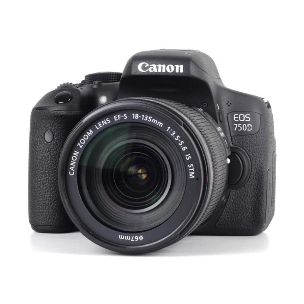 高清照相機Canon/佳能EOS 750D套機 18-55入門級單反相機 家用旅遊 高清數碼 DF 免運維多