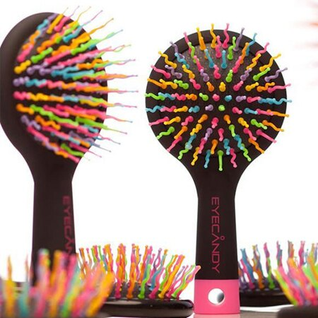 3D球型 造型梳 / 球型梳 / Eyecandy捲捲梳 / 彩虹梳