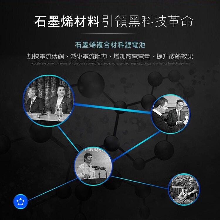 【免運】HANLIN SMC1W 黑科技 30分快充石墨烯行動電源