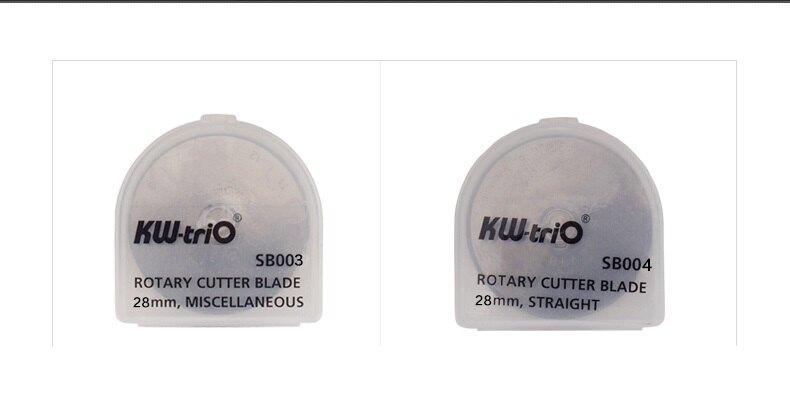 KW-triO 可得優 SB004 割布刀 備用刀片 (直線3入) (28mm)