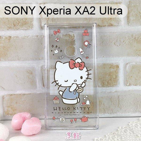 三麗鷗空壓軟殼 SONY Xperia XA2 Ultra (6吋)  Hello Kitty【正版】