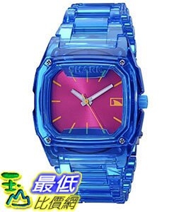 [106美國直購] Freestyle 手錶 Women's 101992 B00B78WNV8 Shark Blue Polycarbonate Watch with Link Bracelet