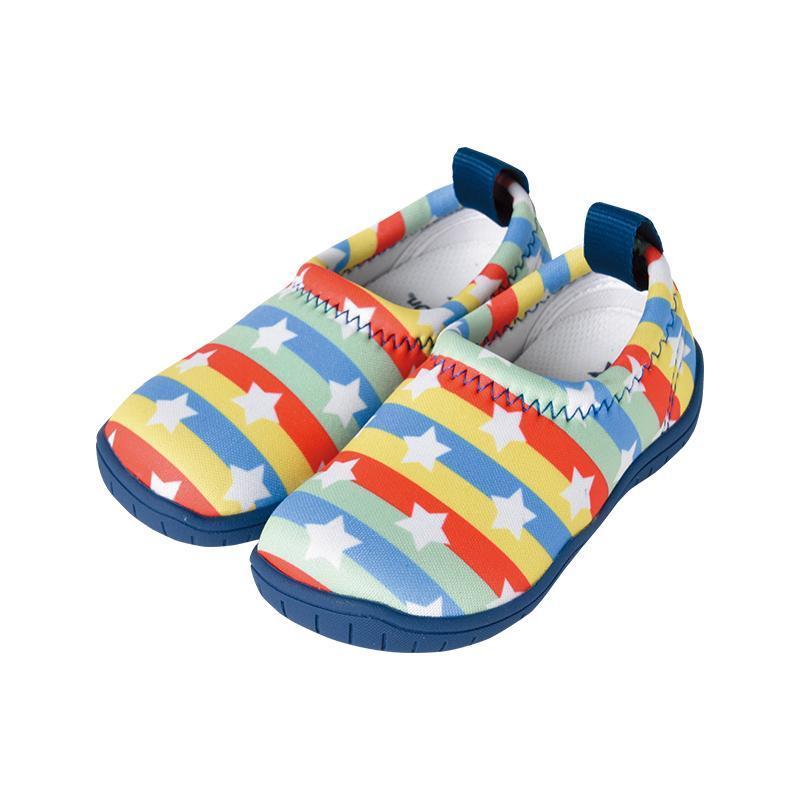 兒童休閒機能鞋「ISEAL VU系列」-彩虹星星 17cm
