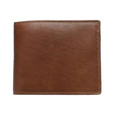 皮夾真皮短夾-商務精選簡約對折男錢包73qs56【獨家進口】【米蘭精品】