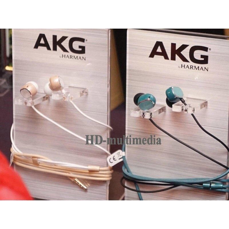 弘達影音多媒體 奧地利 雙動圈單體 AKG N25 雙單體線控耳道耳機 金色 公司貨