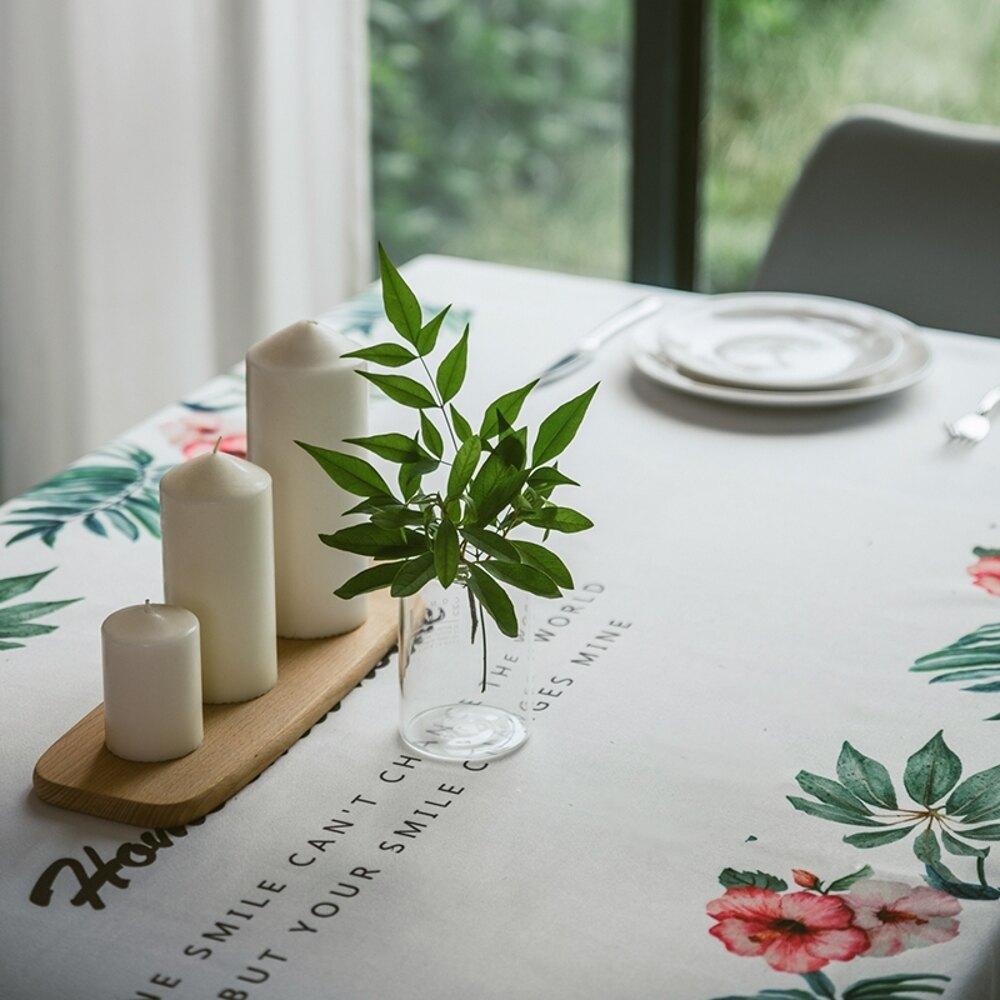時尚可愛空間餐桌布 茶几布 隔熱墊 鍋墊 杯墊 餐桌巾672 (100*140cm)